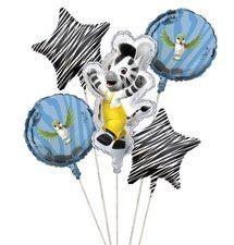 Zou Party Balloon Cluster Set (5 Pieces)