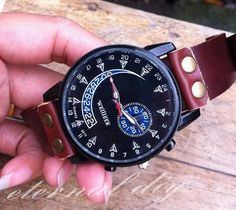 Personality characteristic watches men really by eternalDIY, $19.99