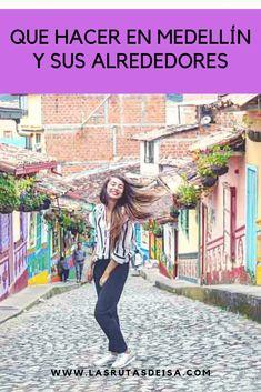 UNA LISTA CON 100 OPCIONES DE COSAS PARA HACER Y VER EN MEDELLÍN Y SUS ALREDEDORES.  CREEME QUE NO TE QUEDARAS SIN PLANES EN LA CIUDAD DE LA ETERNA PRIMAVERA Trip To Colombia, South America, Tours, The Good Place, Vacation, Pictures, Travel, Amazing Places, Change