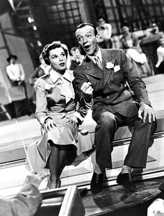 Judy Garland & Fred Astaire 'Midnight Choo Choo' number from 'Easter Parade' 1948.