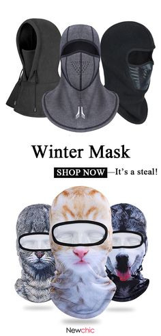 Shop to buy the latest trendy winter mask now. It is a steal! Cool Winter, Winter Gear, Winter Camping, Mens Winter, Mode Masculine, Tommy Hilfiger Pullover, Newchic Com, Mask Shop, Men Accessories