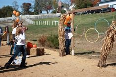 great idea for fall festival games.