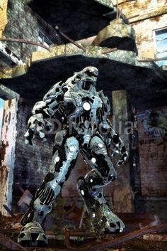 Foto: alien robot © innovari #20879550