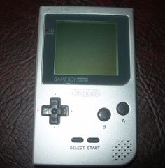 Nintendo game boy pocket #silver #handheld #console ,  View more on the LINK: 	http://www.zeppy.io/product/gb/2/351779318868/