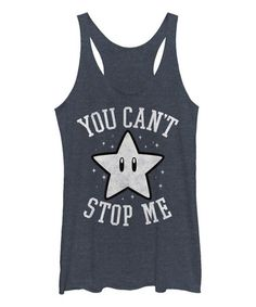 Love this Can't Stop - Jr Raw Edge Racerback Tank on #zulily! #zulilyfinds