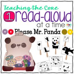 This read-aloud pack on the book 'Please Mr. Panda' is unique in that it holds on to the tradition of reading aloud for pleasure, but also focuses on meeting core standards and aiding in comprehension at the same time.  We have included rigorous text dependent questions where students use evidence from the text to deepen their understanding of the story.