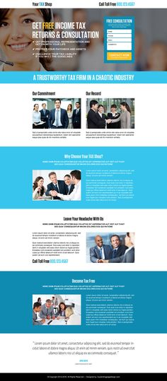 student loan consolidation lead generating landing page design ...