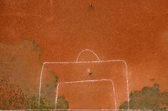 """""""Terrão de Cima"""" - Ground from above by Renato Stockler, via Behance"""
