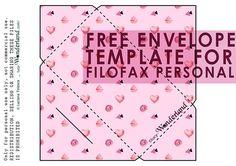 Lucy-Wonderland: Free printable_ candy envelope per la filofax Personal