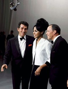 Diahann Carroll, Frank Sinatra, and Dean Martin performing Witchcraft on The Dean Martin Show in 1965