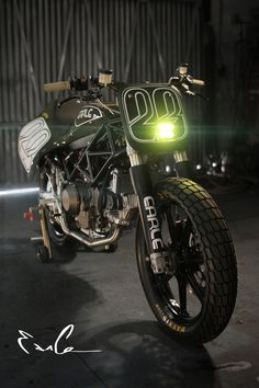 And from the front...  Earle Motors Ducati Tracker.