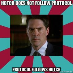 Criminal minds ~ Hotchner