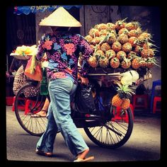 vietnam #streetfood #pineapple