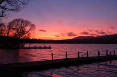 A sunset in Low Wood Bay, Windermere, Lake District.  Picture: KRIS LITTLEWOOD