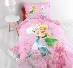 Disney Dekbedovertrek - Fairies - Twin - 140x200 cm