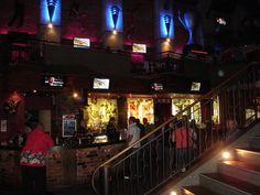 Interior of Winnie Bagoes pizza restaurant 21 December 2007