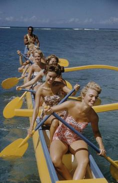 1950's in hawaii. life magazine