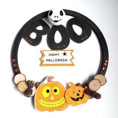 Ma couronne d'Halloween pour picwic de Livry-gargan