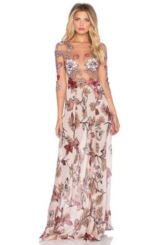 For Love & Lemons VESTIDO MAXI SIERRA