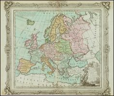 L'Europe - Barry Lawrence Ruderman Antique Maps Inc.