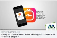 The battle is on and is getting intense with each passing day. Calling it another impactful step by Instagram won't be wrong. The launch of the new video app that lets you post videos up to an hour long video isn't less than a surprise for instagrammers around the world. Read on to know more! #MysticAdvertising #NewFeature #Instagram #IGTV #ServingGlobally #MysticLife