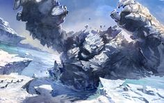 ice elemental - Google Search