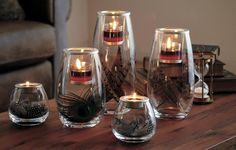 clearly creative votive trio from partylite