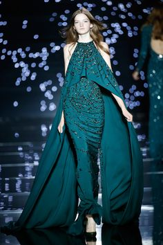 Zuhair Murad Couture Fall/Winter 2015|2016 - Chernaya Bridal House #hautecouture #luxury #CBH #CBHStyle #EveningWear