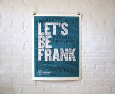 LET'S BE FRANK by Chris Piascik with Frank Collective Inc.