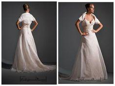 Beautiful Elegant Exquisite Wedding Dress In Great HandworkFabric:taffeta