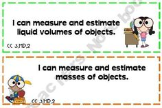 Common Core Mathematics I Can Statements 3rd Grade