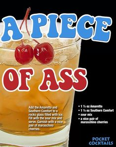 Millions of People Enjoy Pocket Cocktails. Check out our World Famous Drink Posters. Mixed Drinks Alcohol, Party Drinks Alcohol, Liquor Drinks, Alcohol Drink Recipes, Cocktail Drinks, Cocktail Recipes, Alcoholic Drinks, Tea Recipes, Christmas Drinks