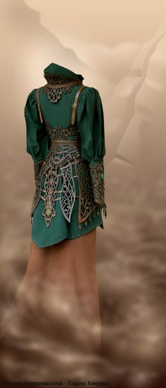 Платье номер 5. Бета версия. <br>Дизайн и изготовление - Андрей Канунов.
