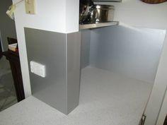 Metaline folds around your walls