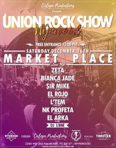 Union Rock Show en Wynwood http://crestametalica.com/evento/union-rock-show-wynwood/ vía @crestametalica