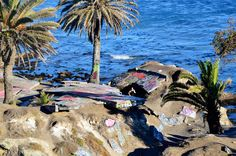 Sunken City -- This too-cool-for-school surf spot was forged in 1929, when a landslide caused a number of homes to fall into the ocean. It's also close by to a few other notable San Pedro tourist destinations, including the Point Fermin Lighthouse, Cabrillo Beach, and the Korean Friendship Bell.