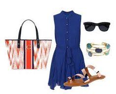 Blue outfit idea