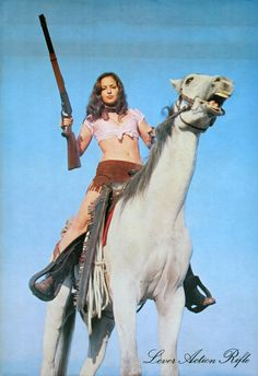 My goodness… Well, at any rate I like the art wor… - Best Equitation Horse Woman Riding Horse, Warrior 1, Warrior Women, Fishing Australia, Nintendo, Lever Action Rifles, Female Armor, Redneck Girl, Real Model