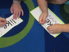 Spelling Words With Pokey Pins