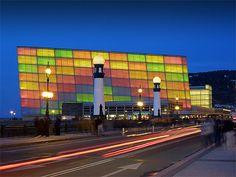 Kursaal Building, San Sebastian, Spain by Oscar Alonso Algote San Sebastian Spain, Exotic Beaches, Basque Country, The Beautiful Country, Concert Hall, Bilbao, Facade, Places To Visit, Europe