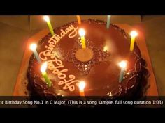 Best Romantic Birthday Song for Lovers by Miranda Wong (Piano Solo) Happy Birthday Song Youtube, Birthday Songs, It's Your Birthday, Birthday Cake, Birthday Wishes For Lover, Decadent Chocolate Cake, Chocolate Cakes, Romantic Birthday, Special Birthday