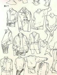 Cosas De Dibujantes - Ropa - Wattpad Shirt Drawing, Guy Drawing, Drawing Sketches, Art Drawings, Drawing Tips, Drawing Ideas, Character Drawing, Pencil Drawings, Character Sketches