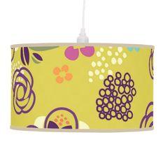 Doodle Floral Lamp #giftforher #giftforteen #giftforkid #giftforgirl
