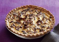 Mushroom Pie in a Whole-Wheat Flax Crust