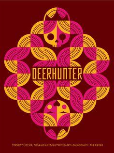 GigPosters.com - Deerhunter