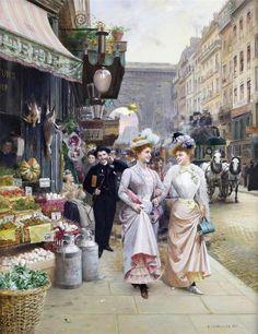 Француженки...Basile Lemeunier (1852-1922) . Обсуждение на LiveInternet - Российский Сервис Онлайн-Дневников