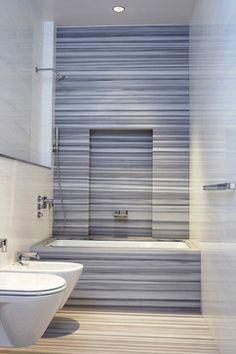 Marmara Marble...need for my kitchen island.....Tribeca Loft - modern - Bathroom - New York - Warren Red