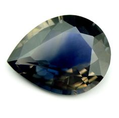 Certified Natural Unheated 0.76ct Bi-Color Sapphire