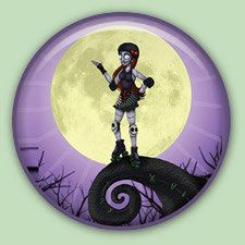 Hey, I found this really awesome Etsy listing at https://www.etsy.com/listing/154646145/roller-derby-nightmare-1-inch-pinback Love it!!!