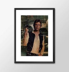 Han Solo Number 2 - Star wars inspired Print - BUY 2 Get 1 FREE by ShamanAlternative on Etsy